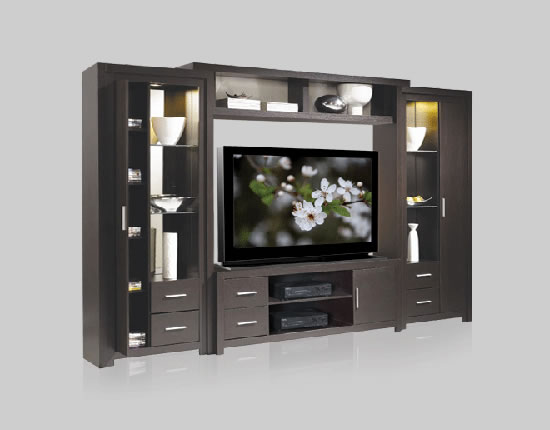 Chrystie Wall Unit for Table Top TV