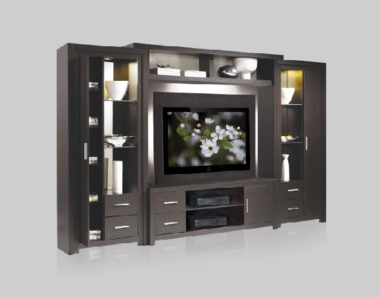 Chrystie Wall Unit for Thin Panel Mounted TV