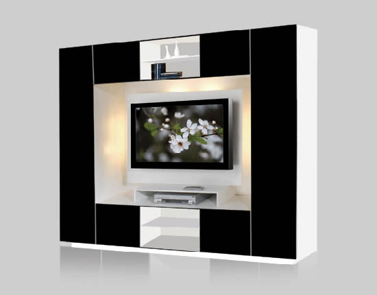 Keegan Wall Unit for Thin Panel Mounted TV